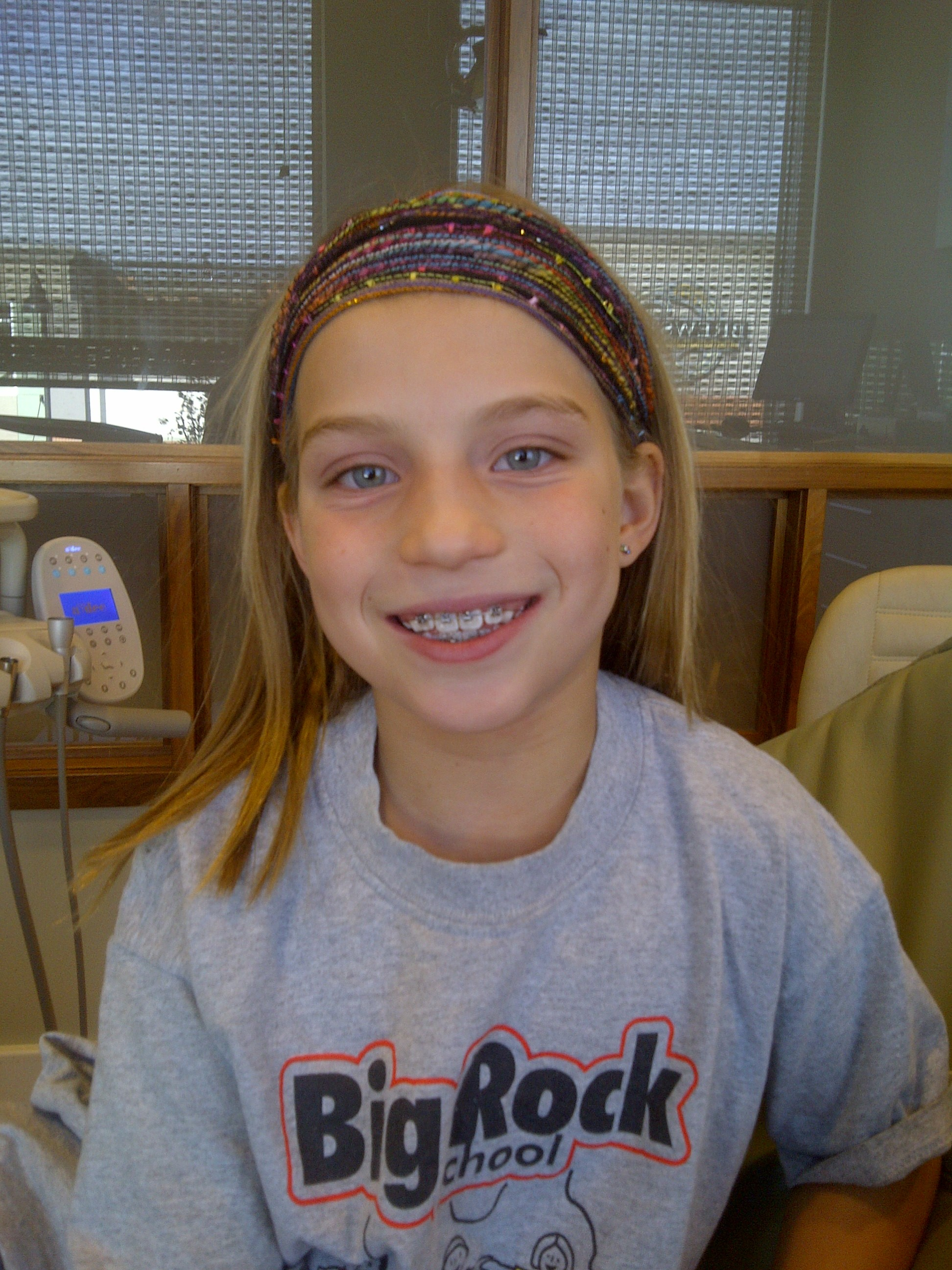 cute braces with Young girls