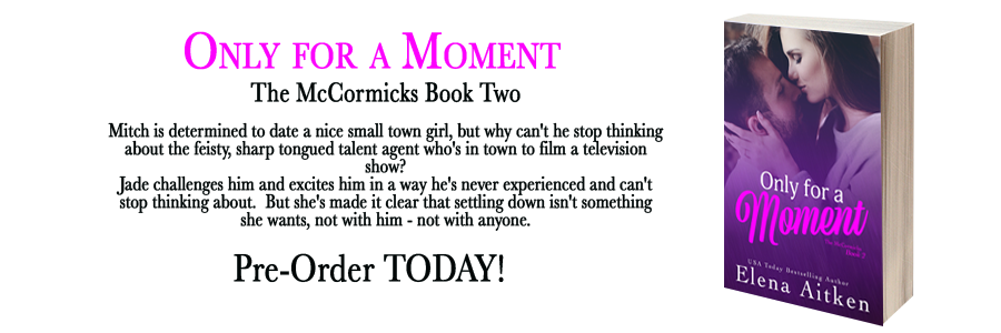 only for a moment banner